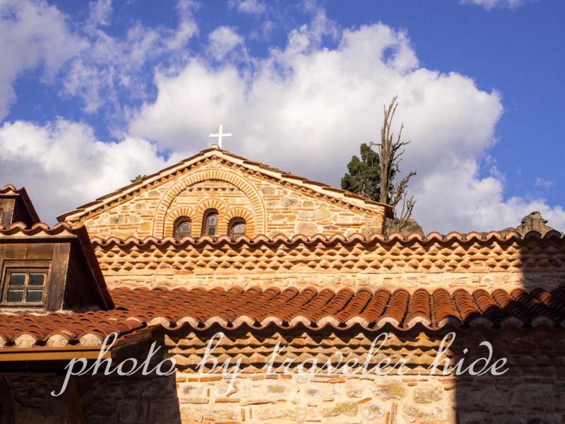 メテオラの11世紀のビザンティン教会