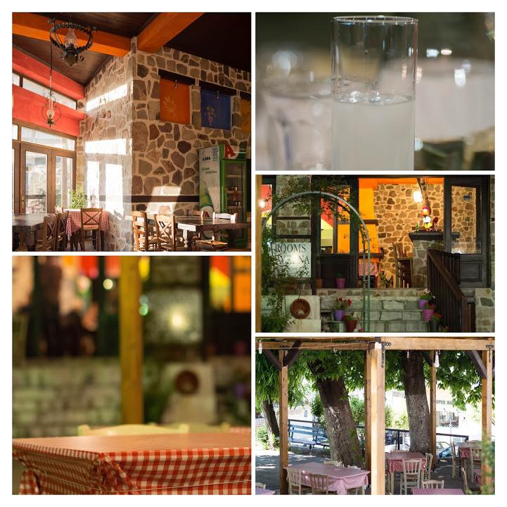 ミトスゲストハウス(Mythos Guesthouse)の1階にあるレストラン