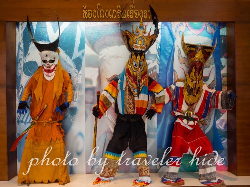 ダーンサーイ郷土博物館に展示されているピーターコーンの人形