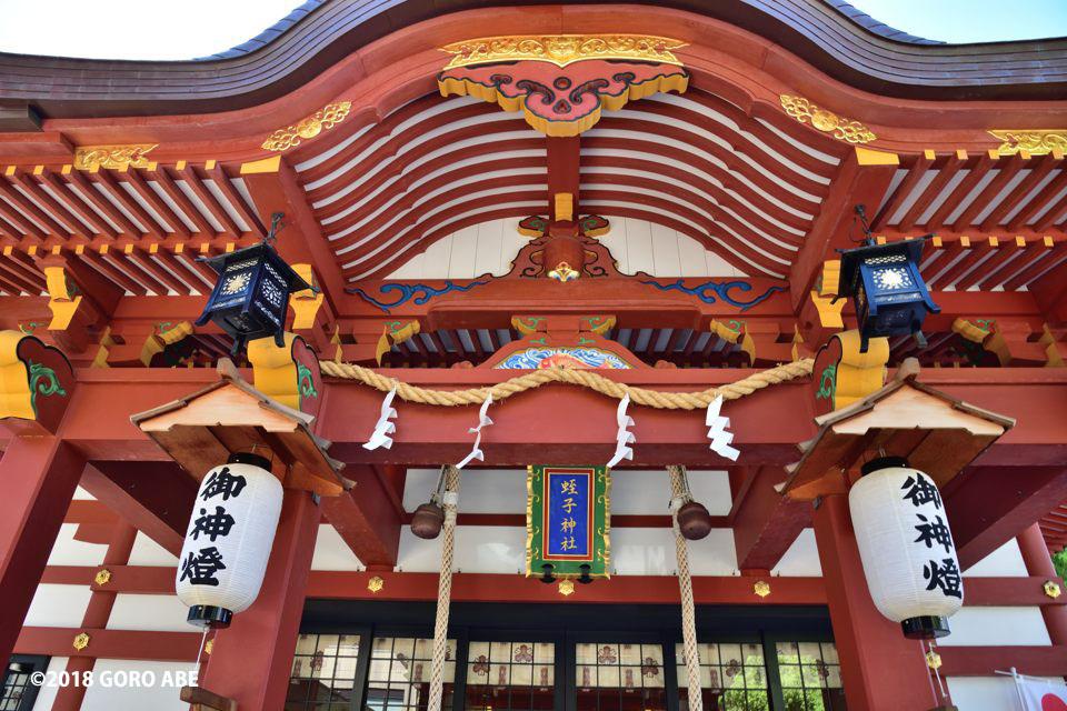 柳原蛭子神社の社殿