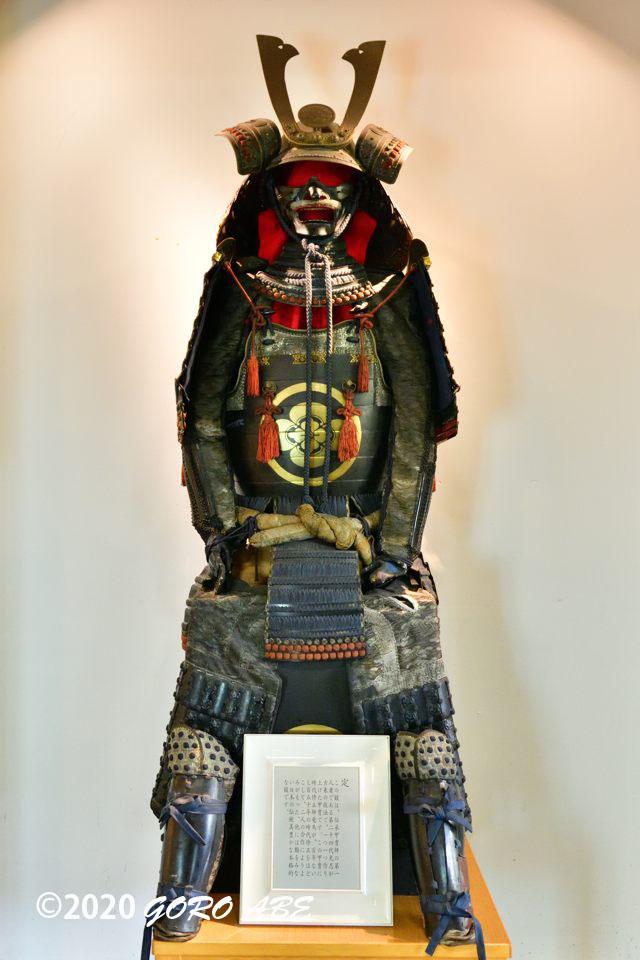 彦根キャッスルリゾート&スパに飾られている甲冑