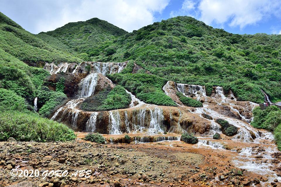 金瓜石 黄金の滝