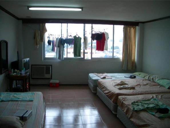 セブ島の語学学校CPILS(シピルス)の宿舎
