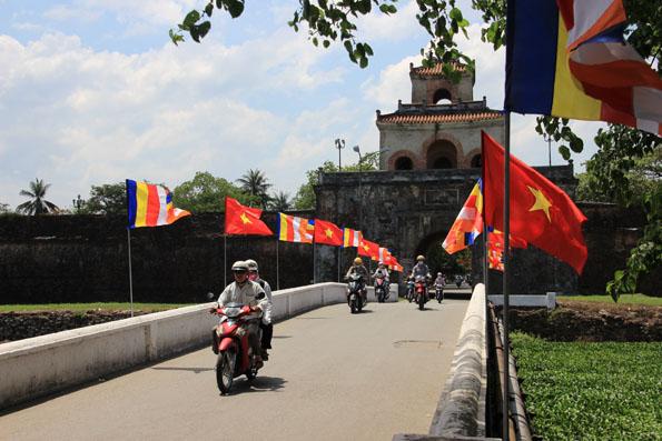 フエ王宮あたりの入り口 (Hue Imperial City)
