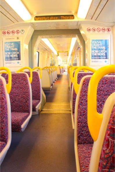 ブリスベンの電車