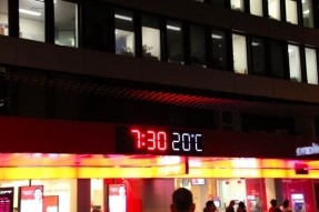 ブリスベンの夜の気温