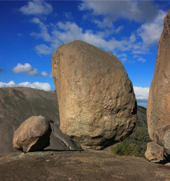 Girraween National ParkのBalancing rock