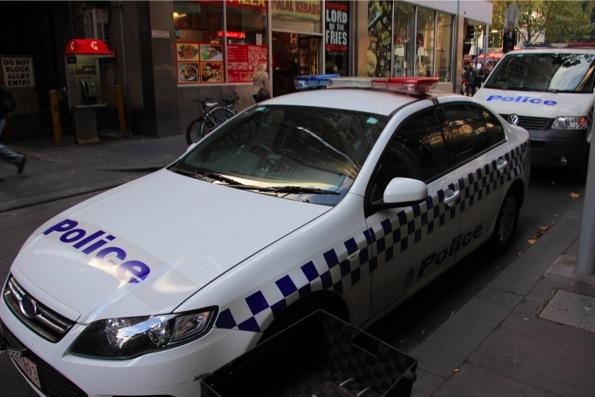 オーストラリアのパトカー