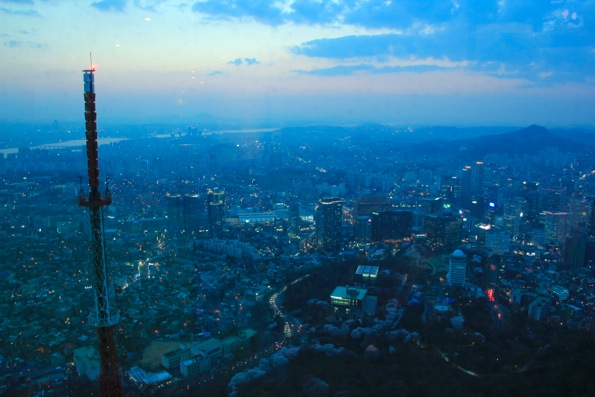 Nソウルタワー(南山タワー/ナムサンタワー)