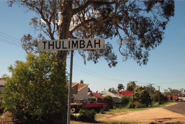 スタンソープの街からやや離れたThulimbah