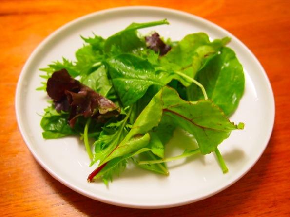 ベビーリーフのサラダ/mesclun
