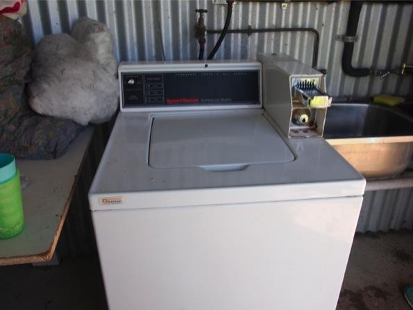 HAPPY APPLEの共同洗濯機