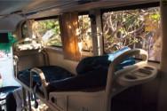 寝られるタイプのバス