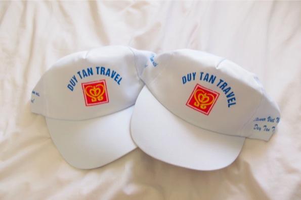 ツアーでもらったキャップ帽