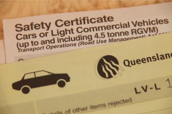 roadworthy certificate/Safty Certificate