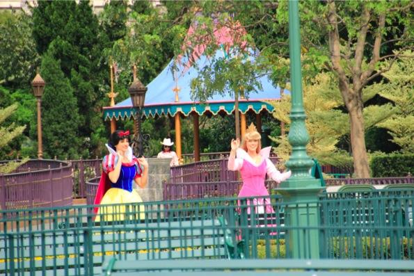 オーロラ姫と白雪姫