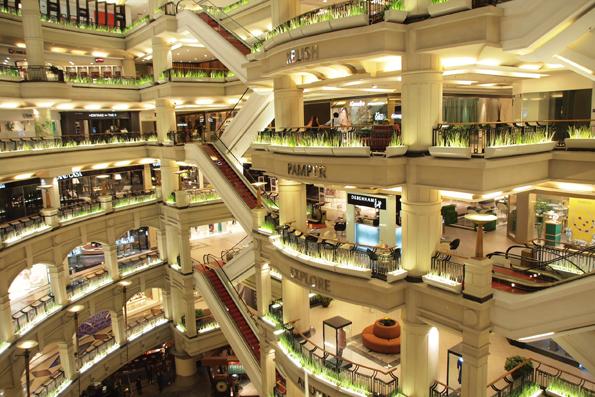 クアラルンプールのショッピングセンター
