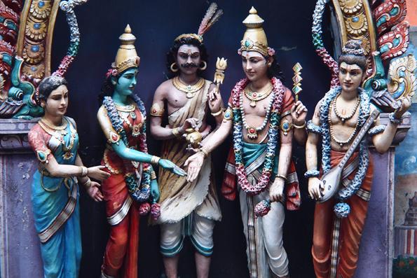 バトゥケーブのヒンズー教神様