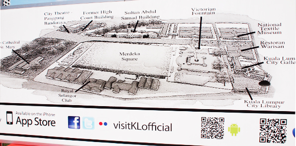 シティーギャラリーの周辺地図