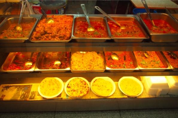 重慶大厦のインド料理