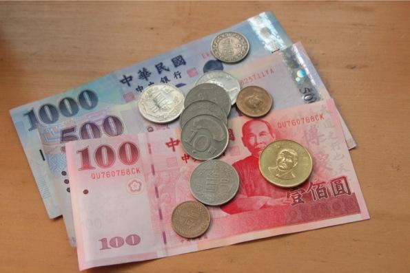台湾のお金(お札とコイン)