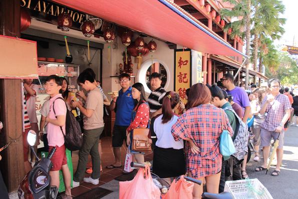 チキンライスボールで有名なレストラン「和記鶏飯(Hoe Kee Chicken Rice Ball)」