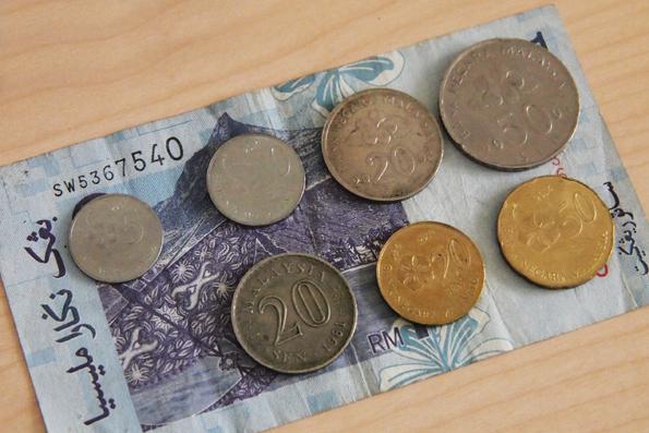 マレーシアのコイン(硬貨)