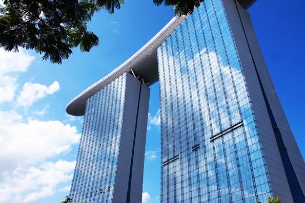 シンガポールのマリーナベイサンズ