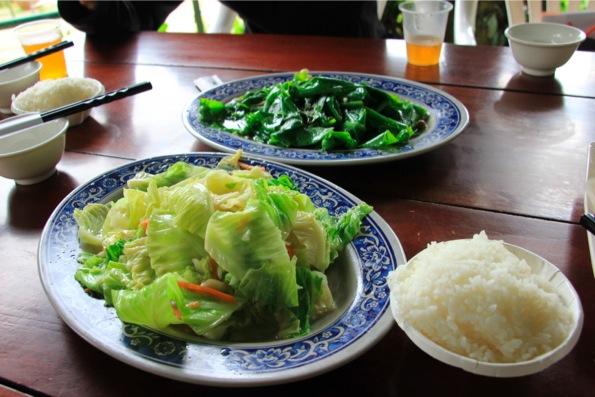 私の好きな野菜の炒め物