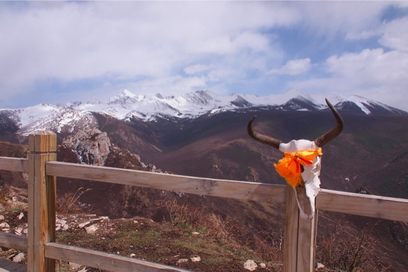 雪宝頂(海抜5,588m)