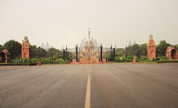 大統領官邸(rashtrapati bhavan)