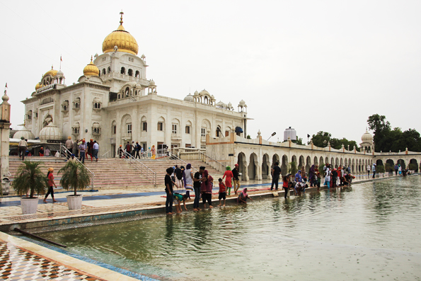シーク教寺院「グラッドワーラ・バングラサーヒブ」