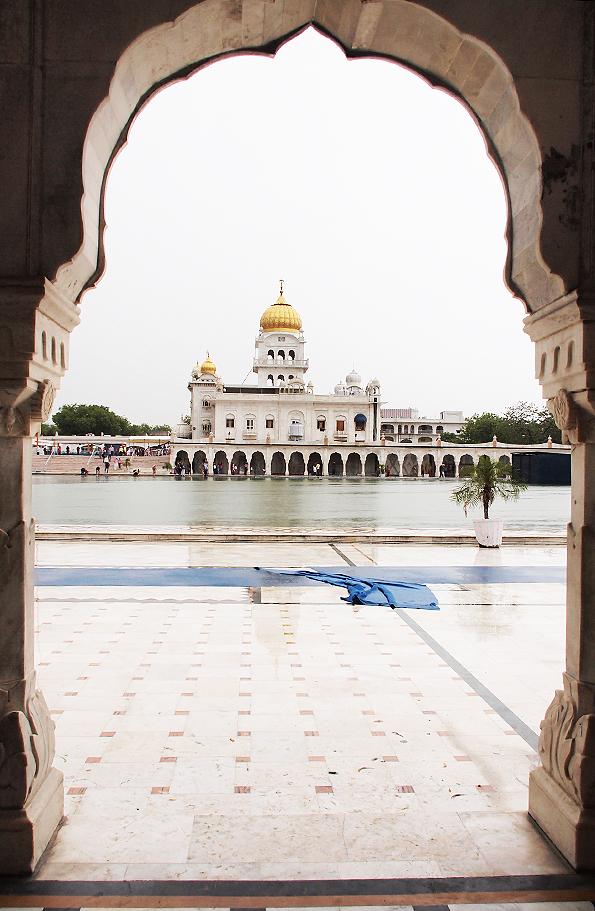 シク教寺院「グラッドワーラ・バングラサーヒブ(Bangla Sahib Gurdwara)
