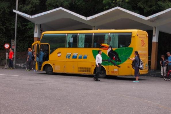 太魯閣国立公園のバス