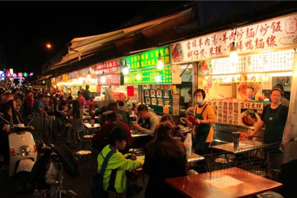 台湾のナイトマーケット
