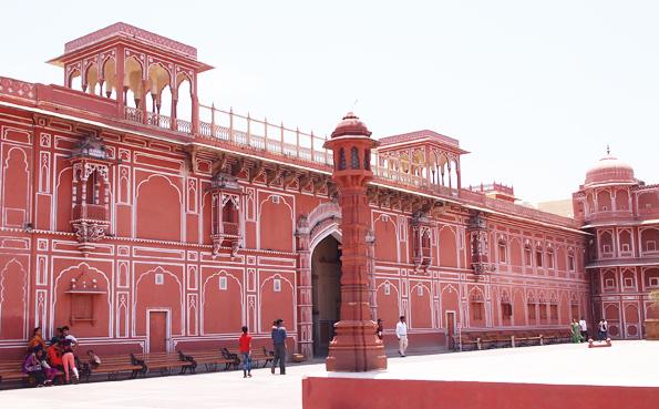 ジャイプールのシティ・パレス(City Palace)