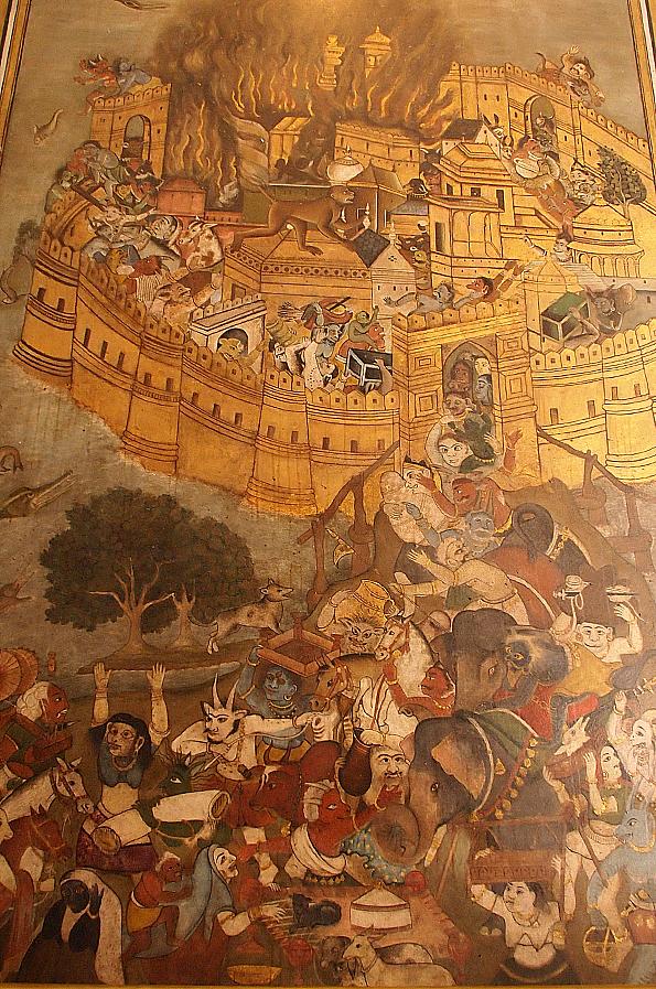 中央博物館(アルバートホール)の怖い絵