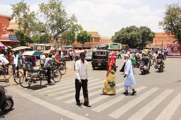 ジャイプールの街中