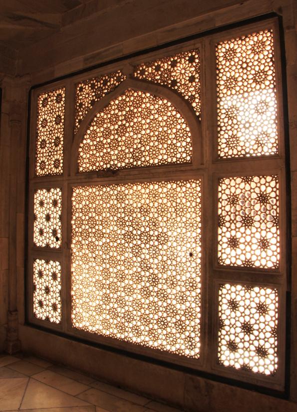 ファテープル・シークリーのモスク地区(ジャマーマスジット)