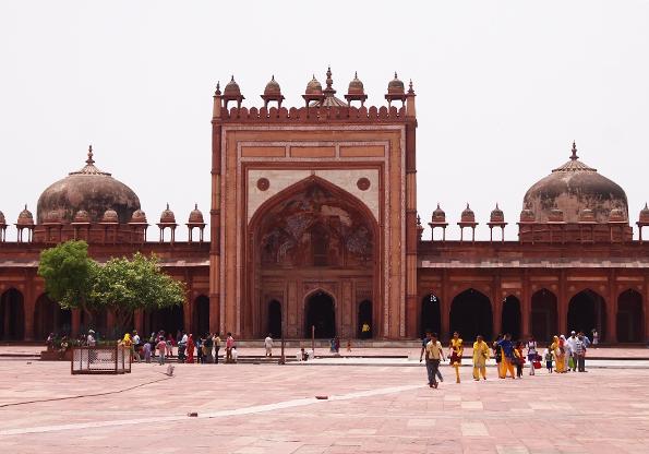 モスク地区「ジャマーマスジット(Jama Masjid)」