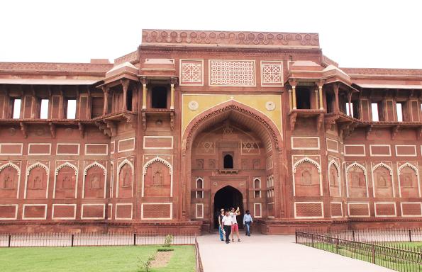 世界遺産「アーグラ城塞」(Agra Fort/赤い城/ラール・キラー/Lal Qila)
