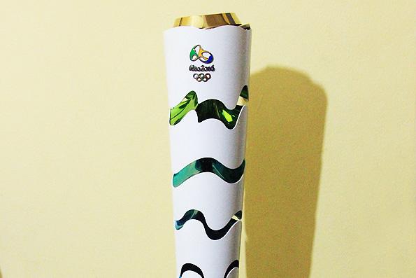 ブラジルリオデジャネイロオリンピックトーチ