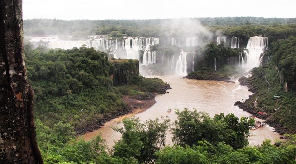 イグアスの滝ブラジル側