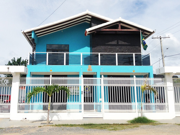 プエルトキハロ(Puerto Quijarro)のブラジル領事館