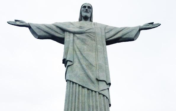 ブラジルリオデジャネイロ・コルコバードのキリスト像