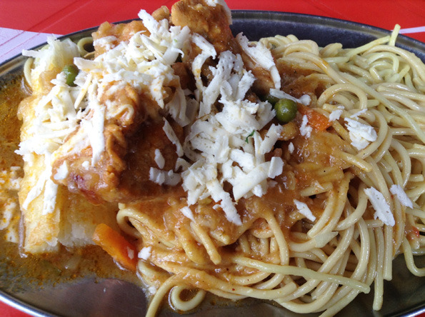 ftallarin con pollo(タジャリン コン ポジョ