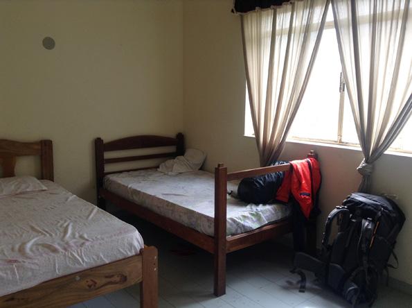 ホステル(Corumba Hostel)の部屋