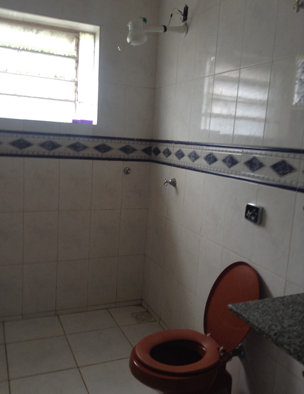 ホステル(Corumba Hostel)のバスルーム