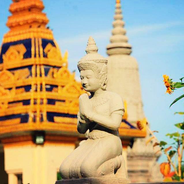 アジアの絶景写真(カンボジア・プノンペン)