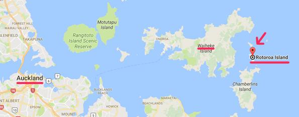ロトロア島の場所・地図
